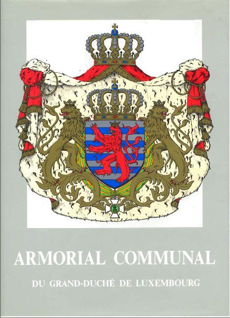 Mit der table héraldique communal 1989 die erste Hausarbeit erledigt