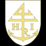 Une marque de marchand, en forme d'ancre se terminant en chef par un chiffre 4 à traverse, accosté des lettres H et I, la lettre R intégrée à la marque.