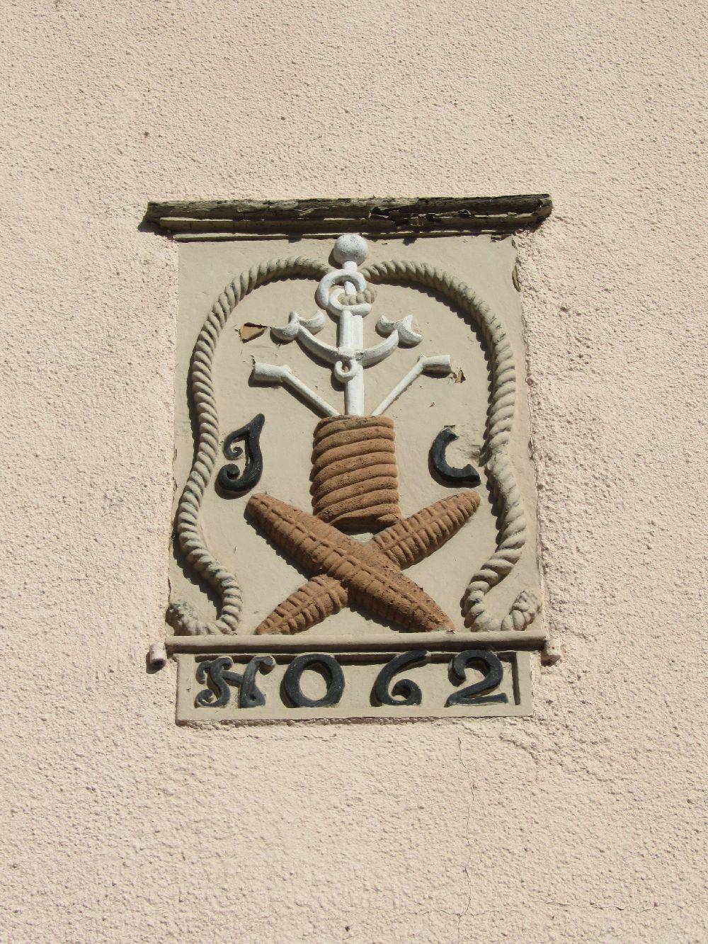 Zwei Wappen in Vianden gesehen