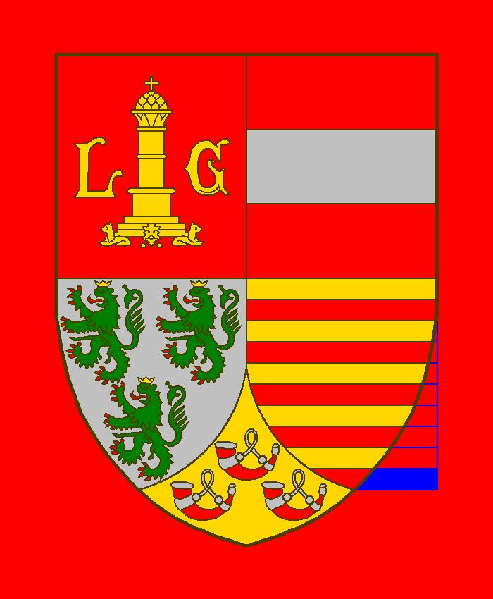 Wappenzeichnungen der Provinz Lüttich fertig