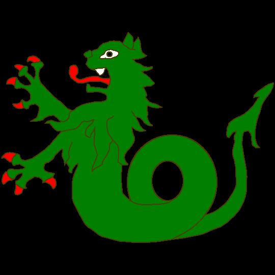 Ein paar Monster und andere Chimären gezeichnet