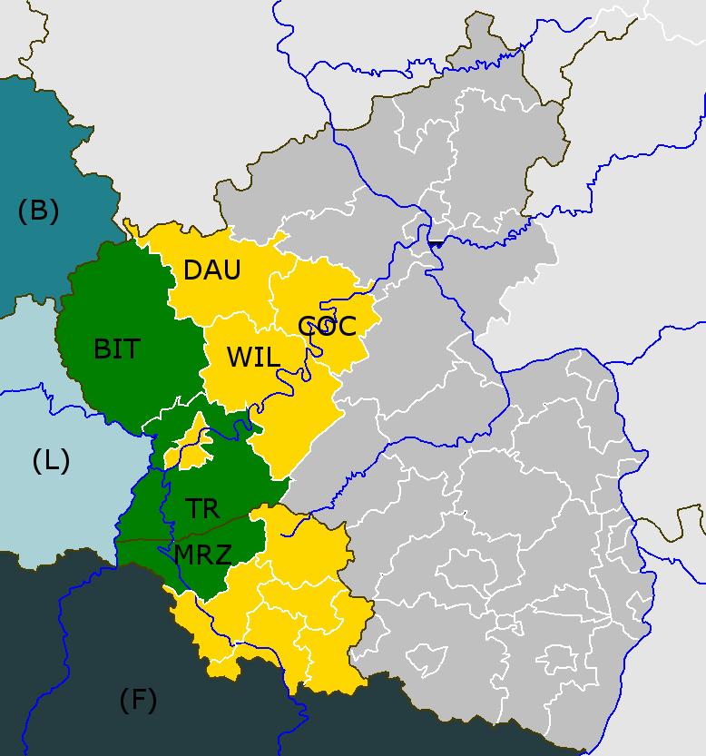 Nach Bitburg-Prüm, jetzt Bernkastel-Wittlich