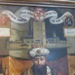 Wappen von Stadt, Kurfürst und Stellvertreter