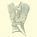 Crest of Richard, Earl of Arundel, from his Seal.