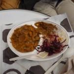 Indisches Essen, war sehr lecker