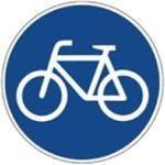 Vorgeschriebener Radweg