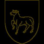 Eine Vorlage für ein Lamm oder Schaf