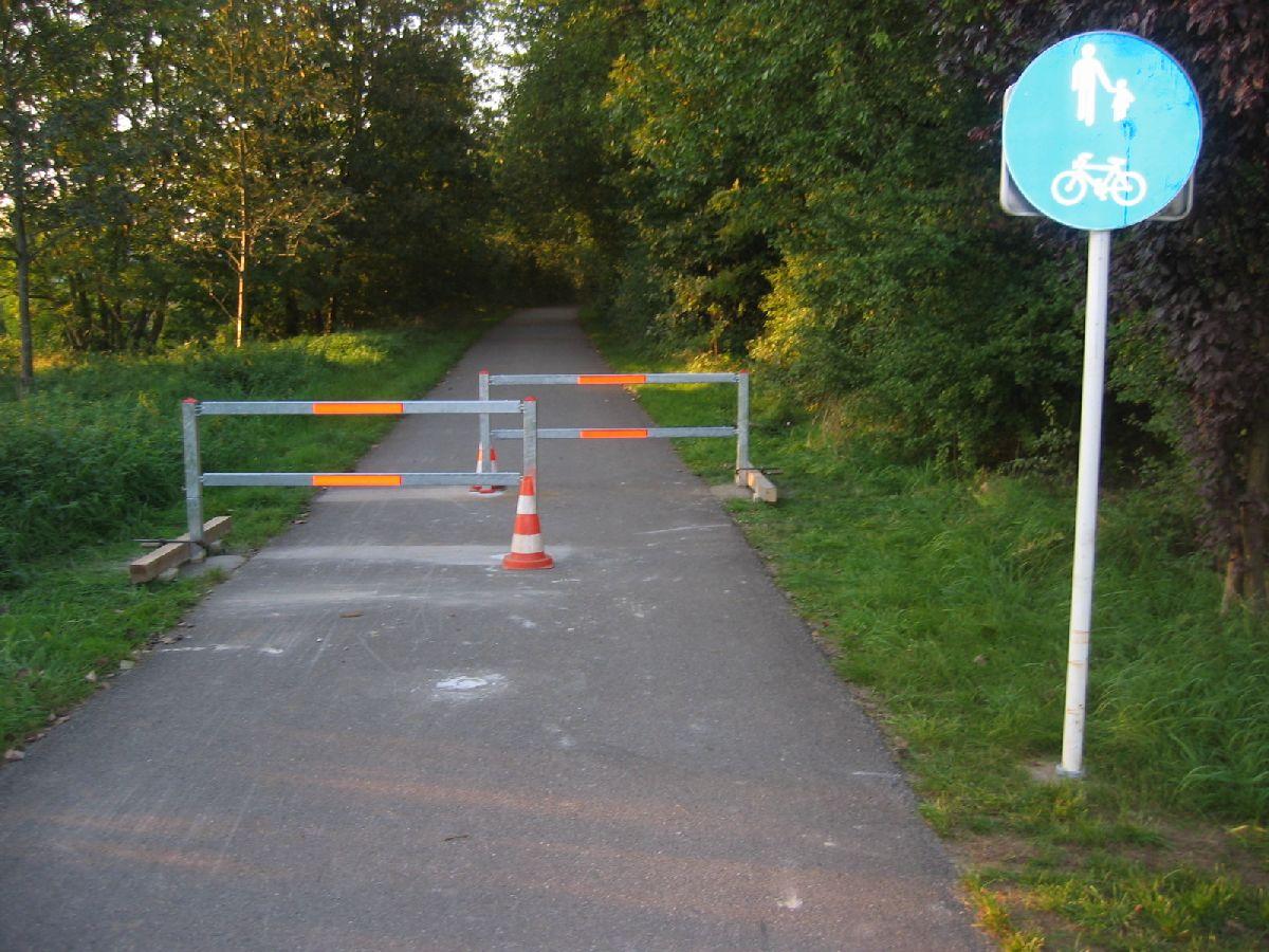 Auch in Clemency werden Radfahrer nun schikaniert