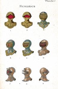 casques ou heaumes