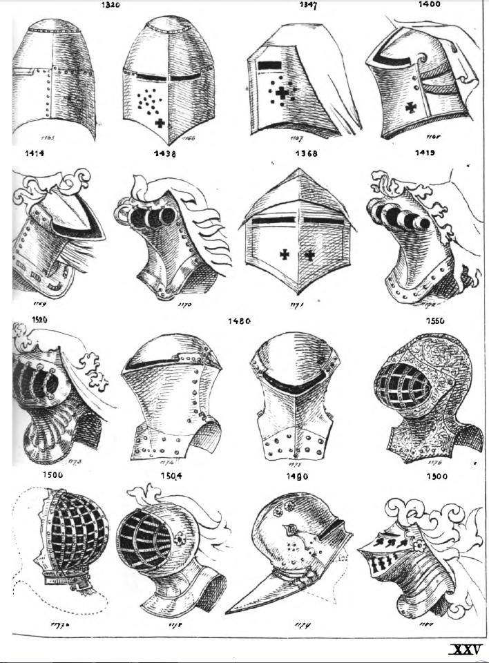OTvH:Tafel XXIV Helmformen – Daniel Erpelding